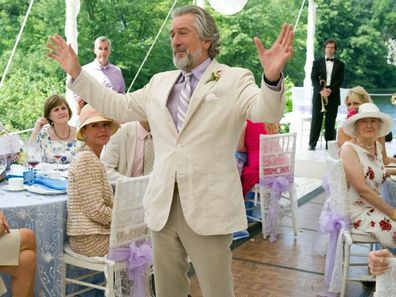 Father of the groom in the movie The Big Wedding