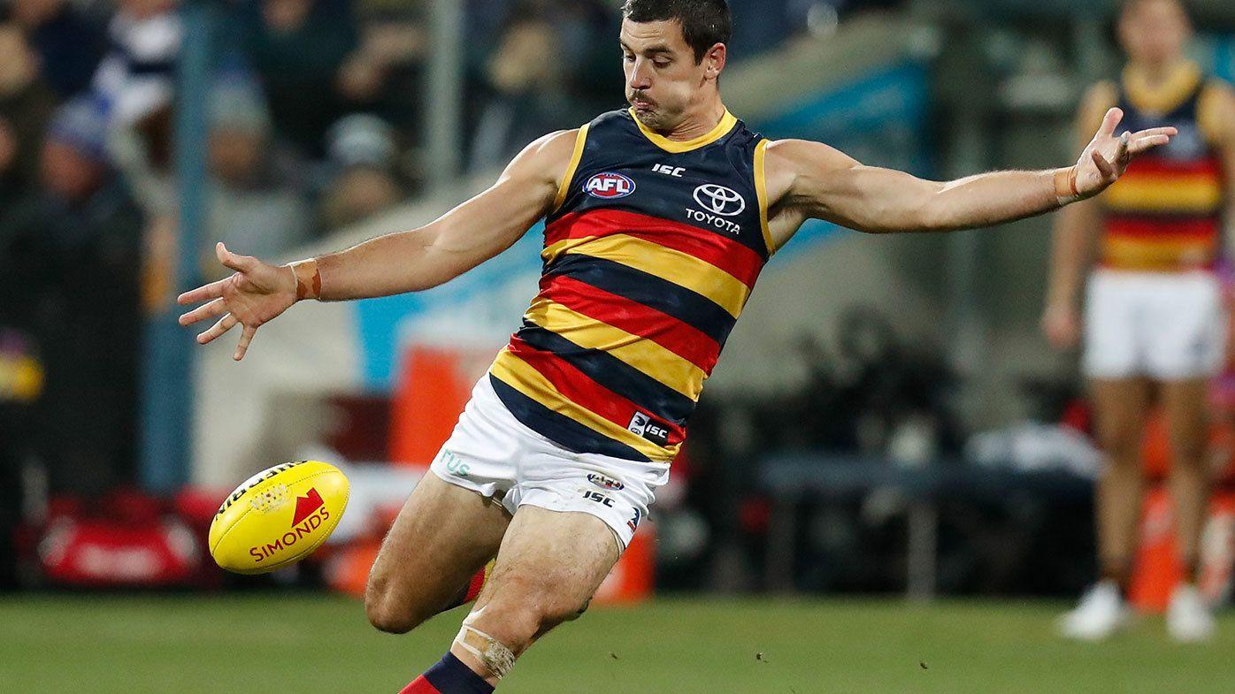 Taylor Walker in action for Adelaide.