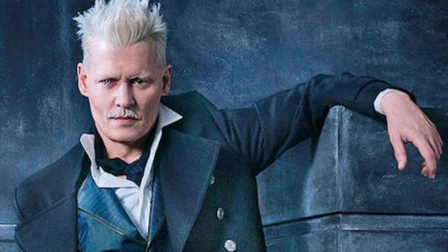 Depp will appear in the Fantasic Beasts sequel, due for release later this year. (Warner Bros.)