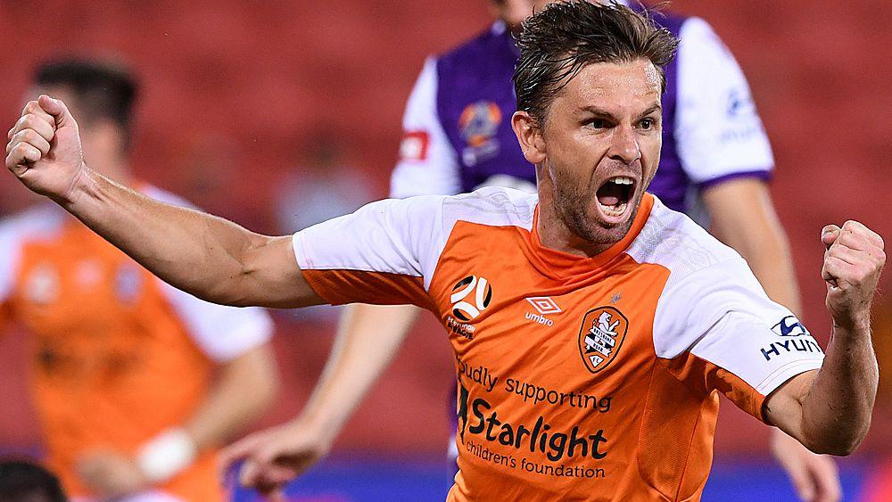 A-League: Brisbane Roar end home losing streak in win over Perth Glory