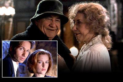 In the season six episode 'How the Ghosts Stole Christmas', Agents Mulder (David Duchovny) and Scully (Gillian Anderson) investigate a haunted house occupied by Maurice and Lyda (Ed Asner and Lily Tomlin), two ghosts with a macabre Christmas tradition — every year they attempt to convince visitors to their home to kill each other...