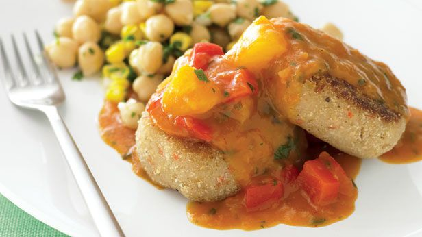 Sweet and sour rissoles