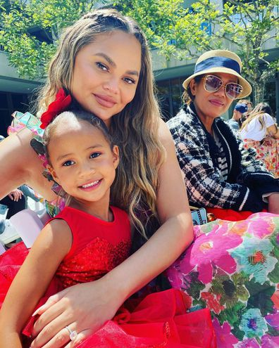 John Legend shares photo of Chrissy Teigen with their daughter Luna.