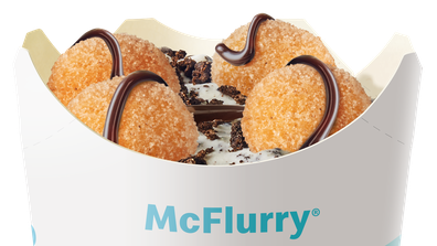 McDonalds releases new Donut Ball McFlurry