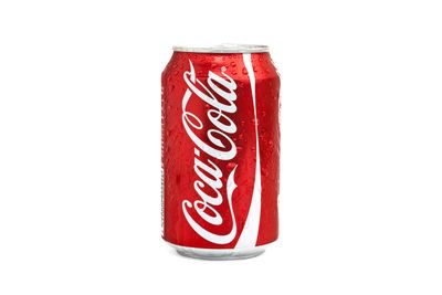 Coca-Cola: 10.6g sugar per 100ml