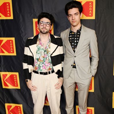 Jamie Dolan and Adam Faze attend the Fourth Annual Kodak Film Awards at ASC Clubhouse on January 29, 2020 in Los Angeles, California.