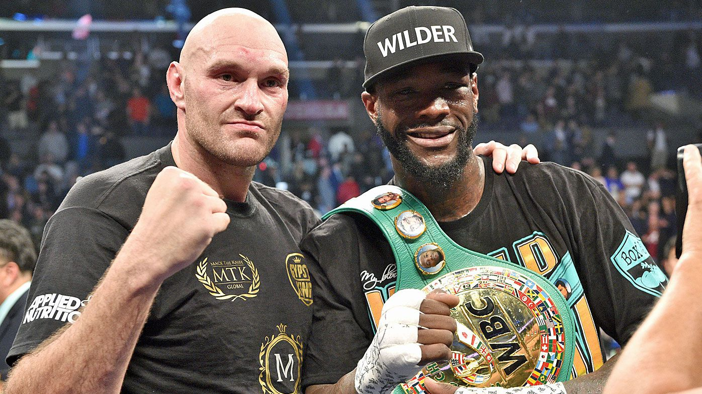 Tyson Fury goes full Undertaker following THAT hook from Deontay Wilder