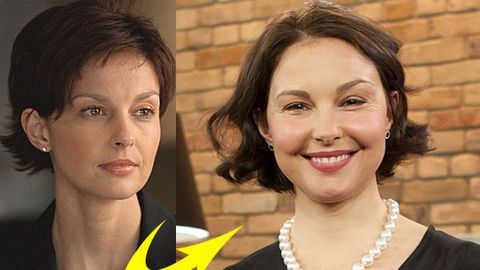 Ashley Judd's puffy face