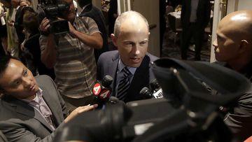 Michael Avenatti said he was considering a run for president.