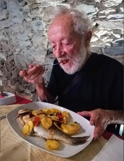 Morandi has been savoring fresh seafood dishes since leaving the island