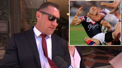 Former NRL player faces court: 'loud, offensive, hysterical'