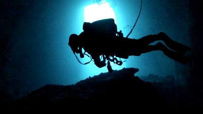 Police divers are trained to search for objects possibly located in deep water, often with little to no visibility. (SA Police)
