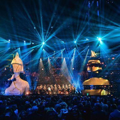 Brit Awards at the O2 London