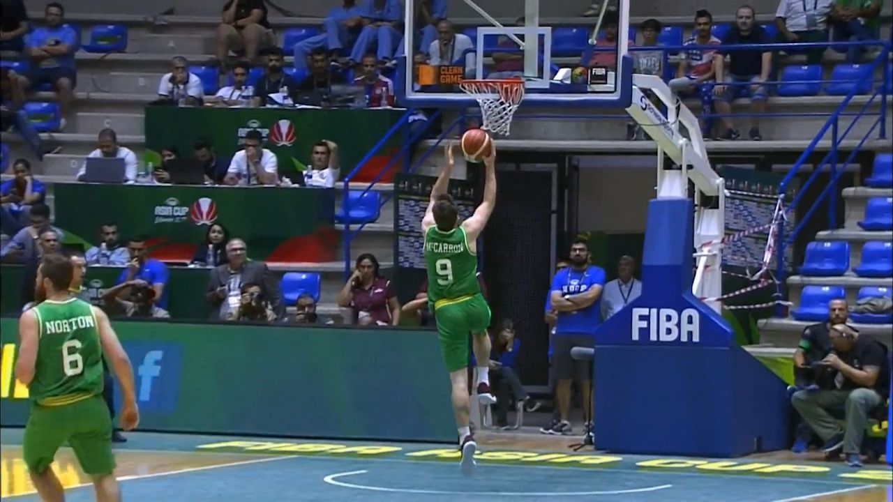 Boomers win inaugural Asia Cup
