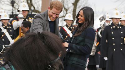 Harry and Meghan visit Edinburgh Castle, 13 February 2018