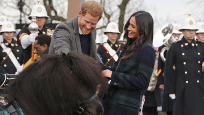 Harry and Meghan visit Edinburgh Castle, 13 February 2018