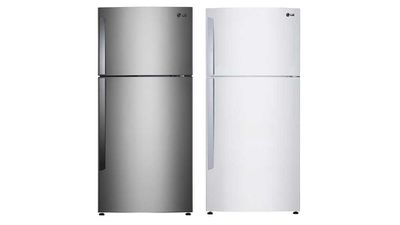 "<p>Category: Best Top Mount Fridge / Refrigerator</p> <p>Winner: LG GT-442BPL / GT-442BWL, <a href=""http://www.lg.com/au/fridges/lg-GT-442BPL"" target=""_top"">lg.com.au</a>, RRP $1249.</p>"