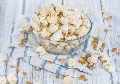 <p>Swap potato chips for air-popped popcorn</p>