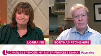 Charles Spencer on Lorraine 25/11