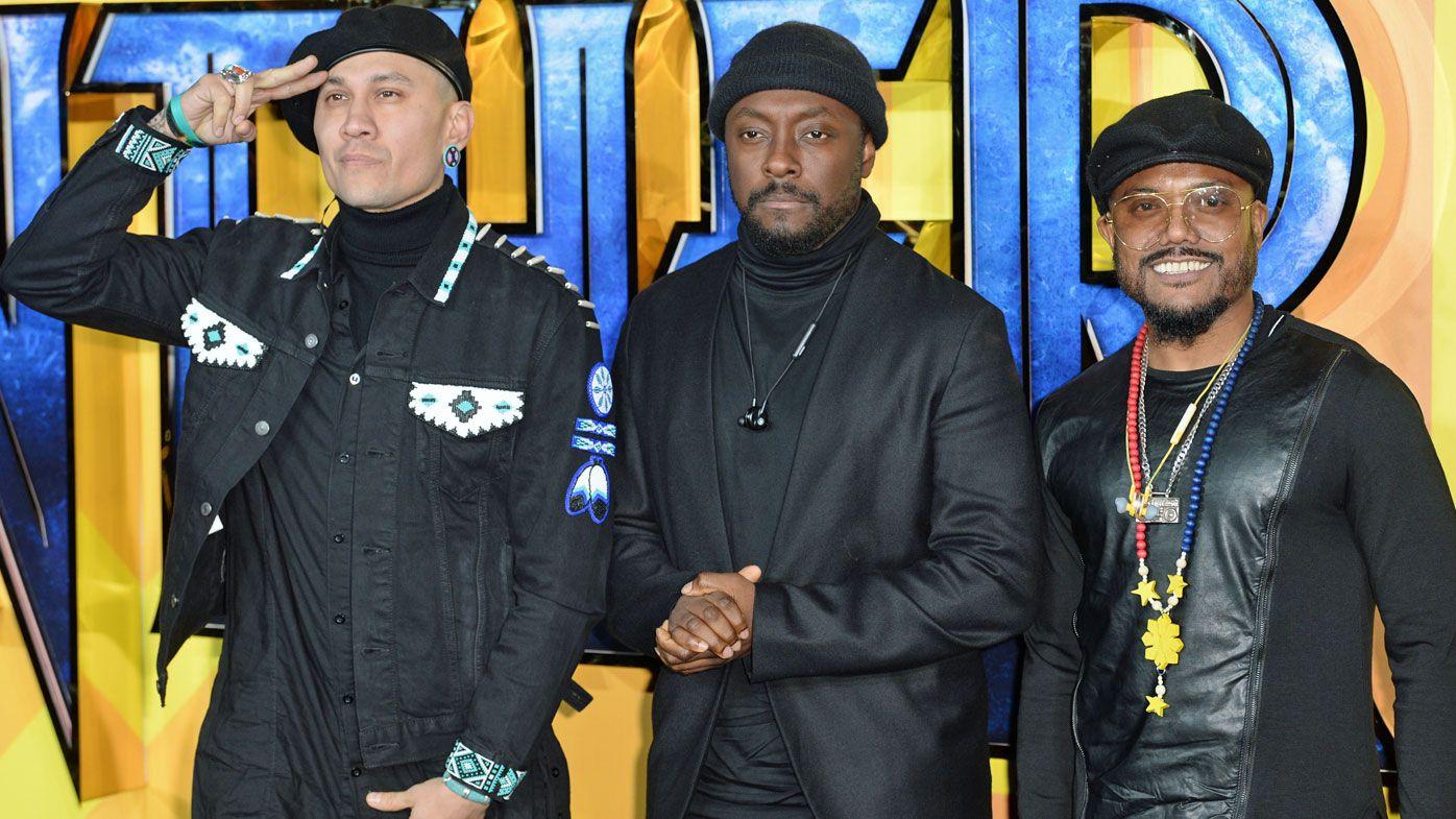 Black Eyed Peas, Barnes at AFL Grand Final