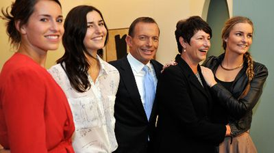 "In the final days of the 2013 election campaign, Abbott made a last-ditch plea to voters via the cast of reality show Big Brother. In a message to housemates, Abbott told them to vote for the ""guy with the not-bad-looking daughters"". It might have helped him get elected, but when you're prime minister relying on the looks of your daughters probably won't cut it."
