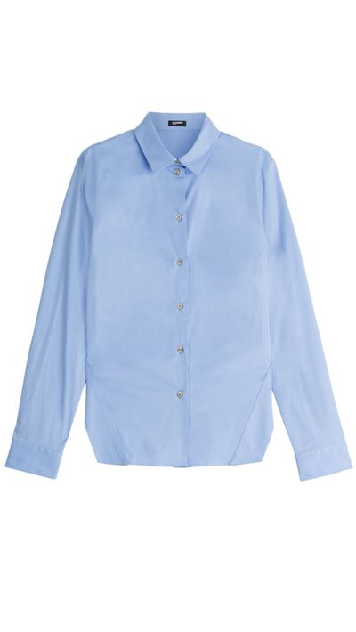 "<a href=""http://www.stylebop.com/au/product_details.php?menu1=clothing&amp;menu2=16&amp;id=625600"" target=""_blank"">Shirt, $345, Jil Sander Navy at stylebop.com</a>"