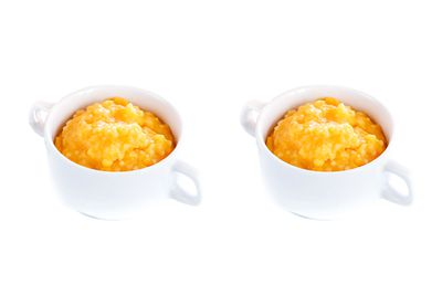 2 cups mashed pumpkin is 100 calories