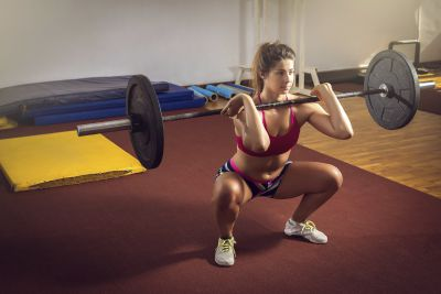 <strong>Front squats</strong>