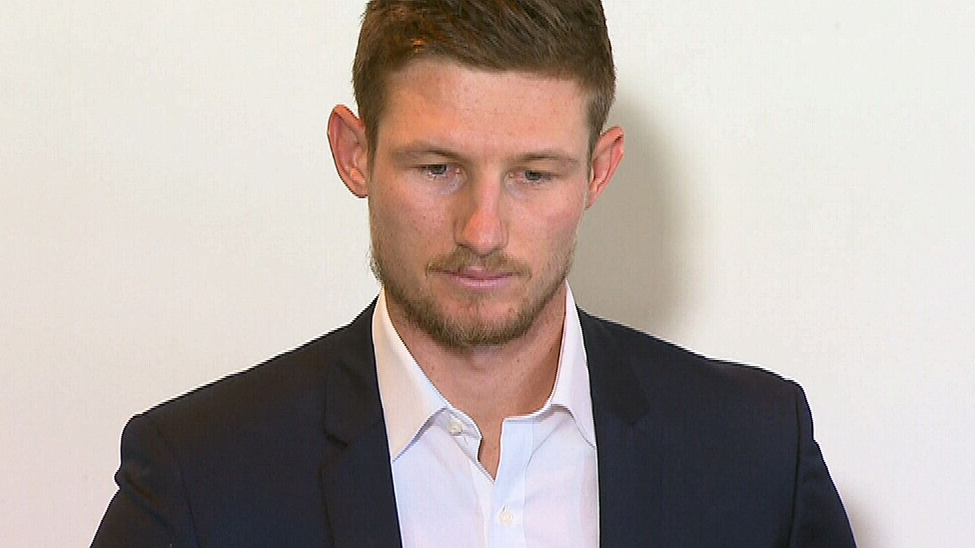 Cameron Bancroft speaks for first time since receiving nine-month suspension