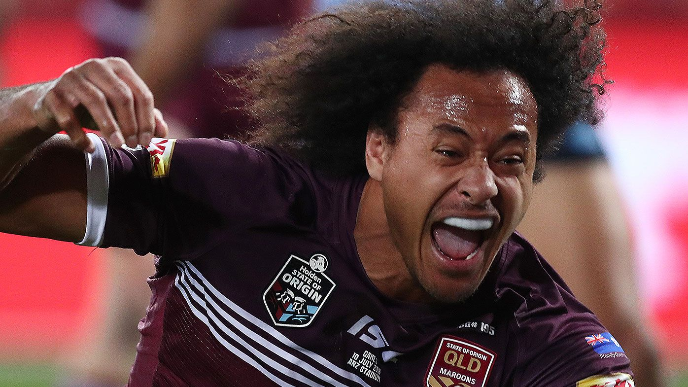 Felise Kaufusi free to play for Origin series opener after beating tripping charge at NRL Judiciary