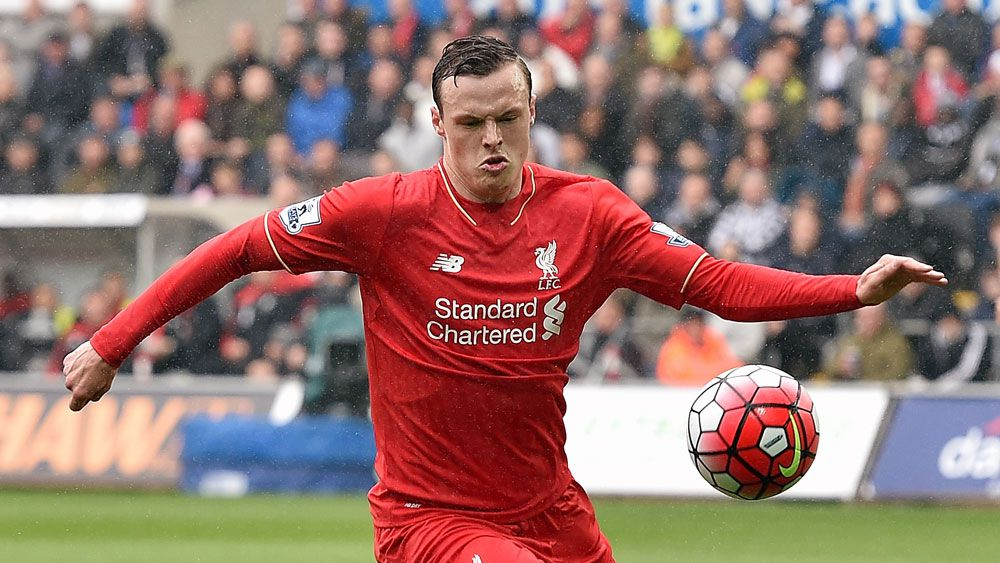 Brad Smith in action for Liverpool. (Getty).