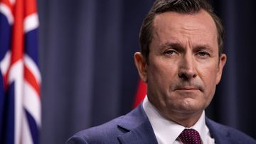 WA Premier Mark McGowan is keeping the border to Victoria closed.