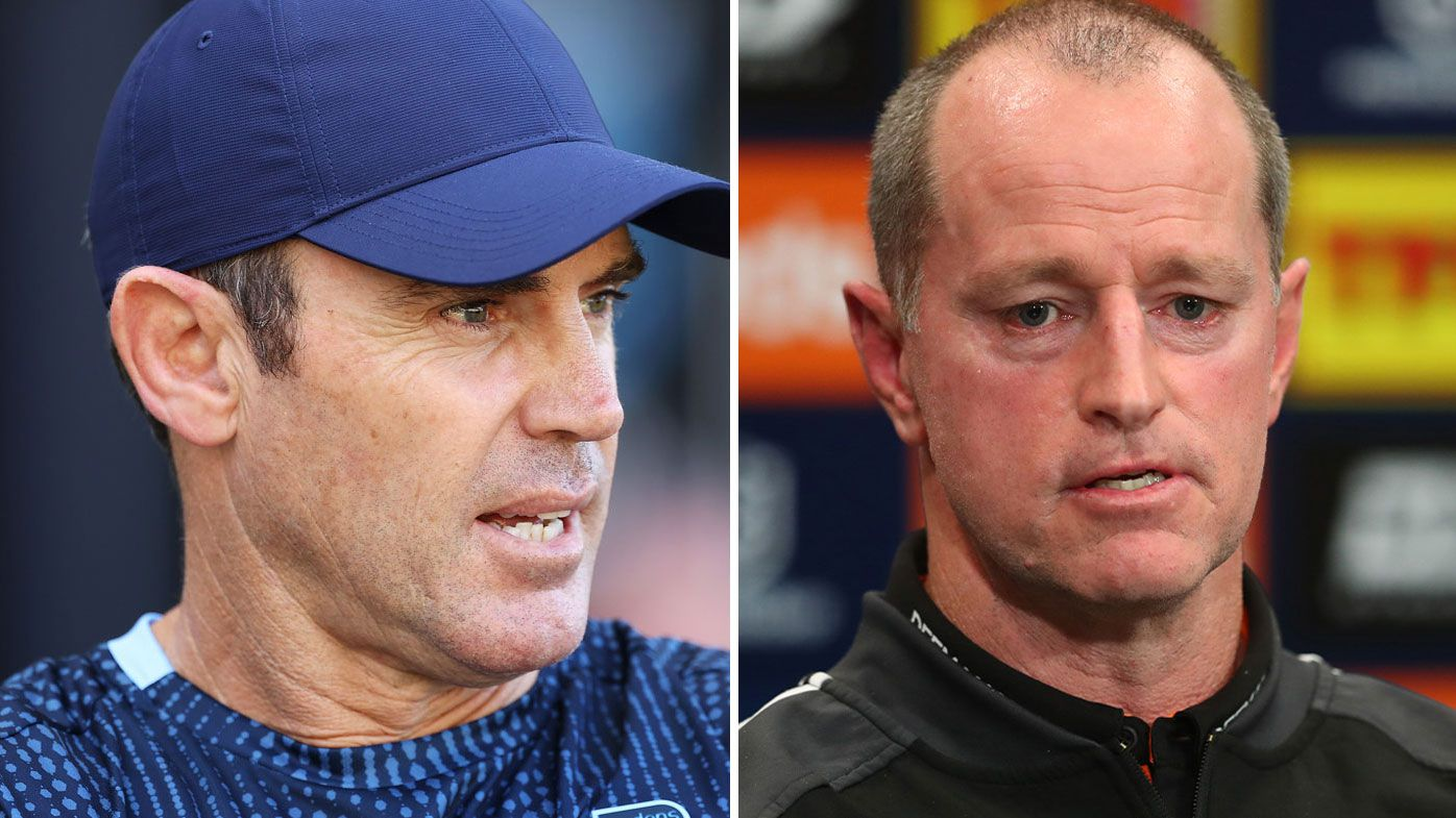 Brad Fittler has defended coach Michael Maguire as pressure mounts on the Tigers.