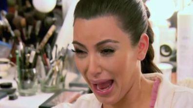 Kim Kardashian 'ugly cry'