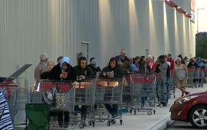Panic-buying at grand opening of Perth's first Costco