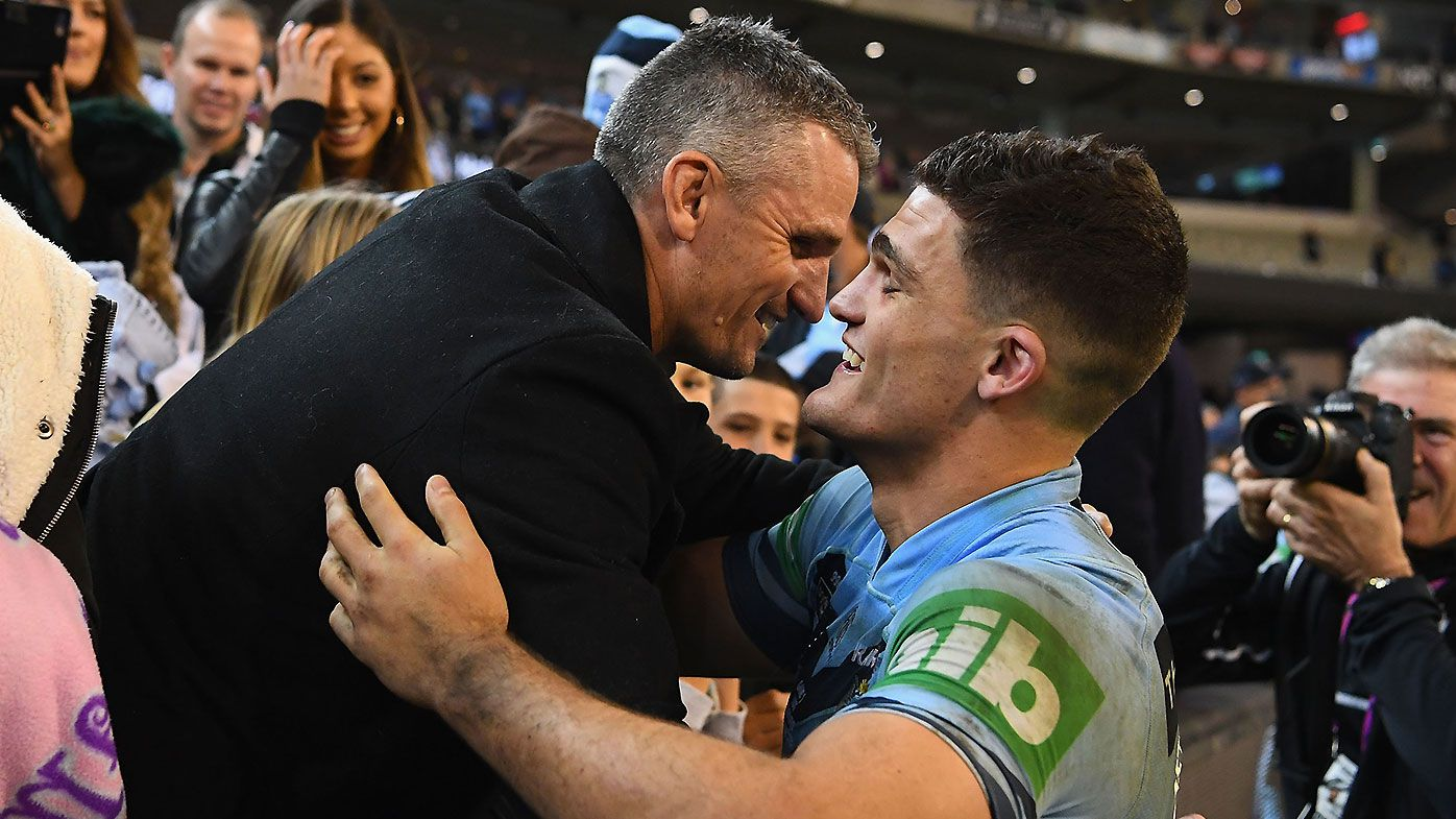 Nathan Cleary and Ivan Cleary