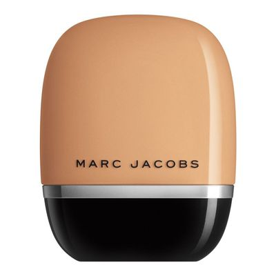 "<p>Get flawless coverage with - <a href=""https://www.sephora.com.au/products/marc-jacobs-beauty-shameless-foundation/v/medium-r300"" target=""_blank"" draggable=""false"">Marc Jacobs Beauty Shameless Foundation 32ml in Medium, $70</a></p>"