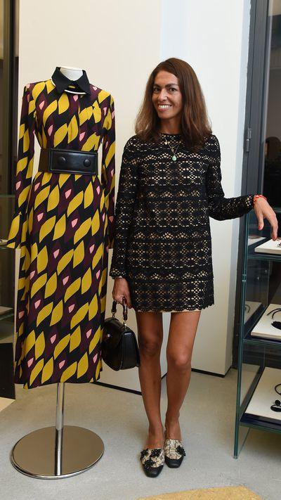 <p>Fashion editor and stylistViviana Volpicella.</p>