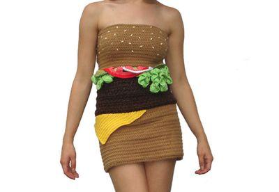 The hamburger dress