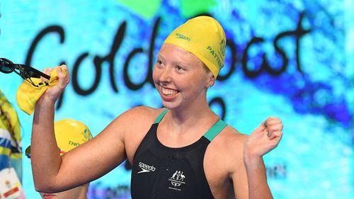 Para-swimmer Lakeisha Patterson won her second gold. (AAP)