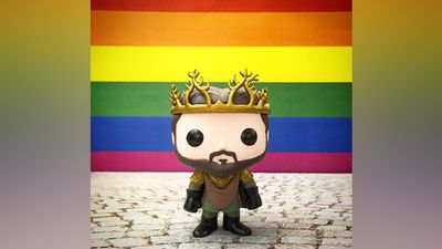 Television series Game of Thrones used a model of character Renly Baratheon so celebrate the ruling.