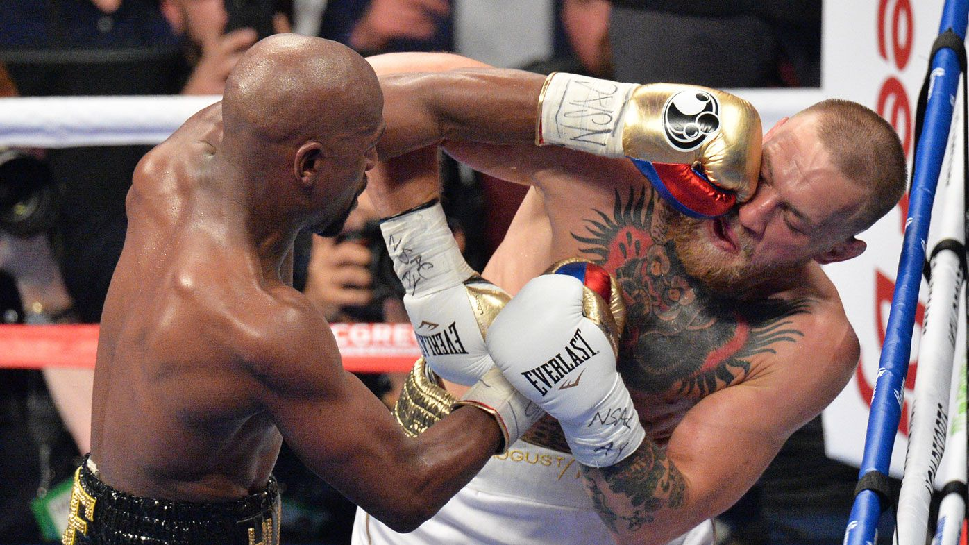 US boxer Floyd Mayweather topped the Forbes rankings of the world's top 100 earning athletes after earning US$275m ($361m) for his match in August against UFC star Conor McGregor, who claimed fourth position on the rankings (Lionel Hahn/PA Wire).