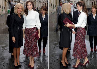 Princess Mary in Paris, October 2019