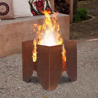 Aztec Rust Fire Pit