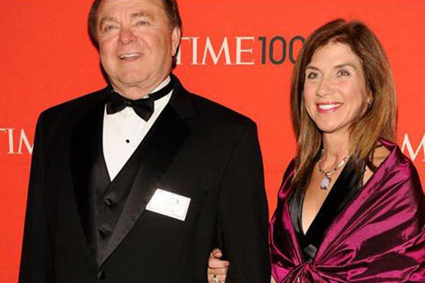 Harold Hamm and former wife Sue Arnall.