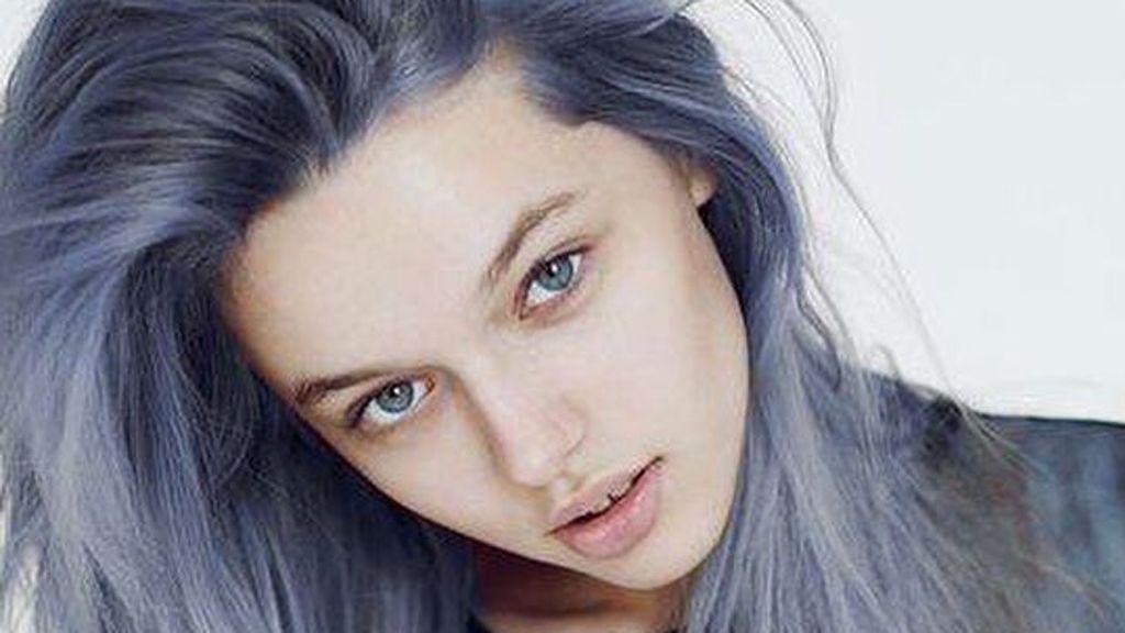 Denim-coloured hair is here