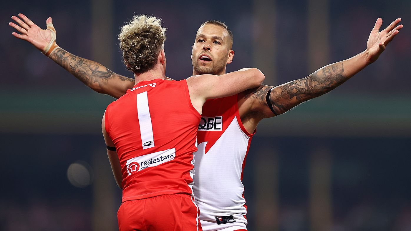 Sydeny Swans star Lance Franklin to miss up to a month with knee injury