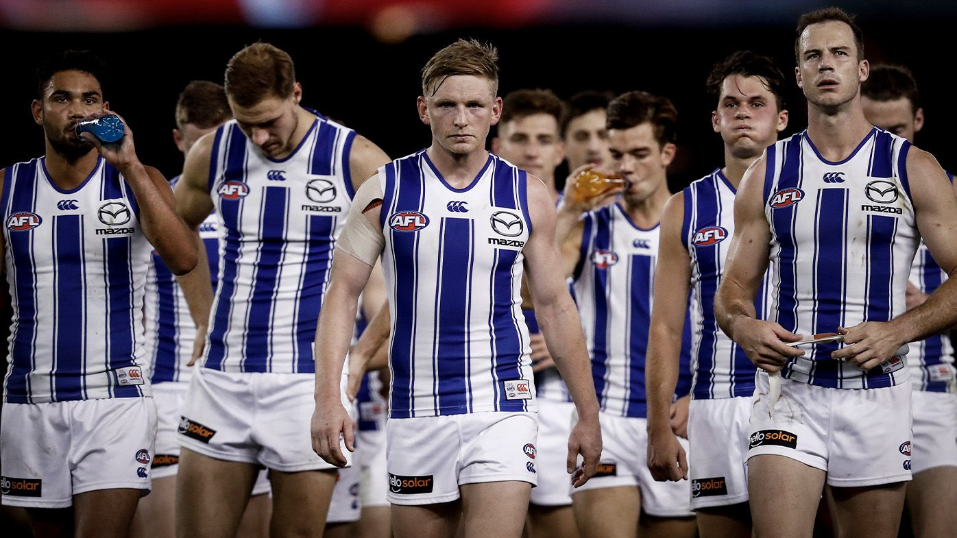 'We are pulling out all stops': North Melbourne chairman Ben Buckley's desperate letter to faithful
