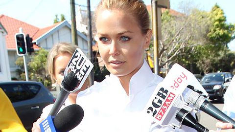 Lara Bingle loses license over hit and run