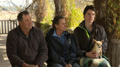 Why teenage boy is so pleased to be back on drought-hit farm